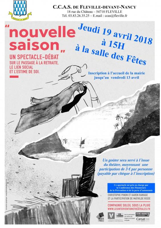 Théâtre goûter CCAS Fléville