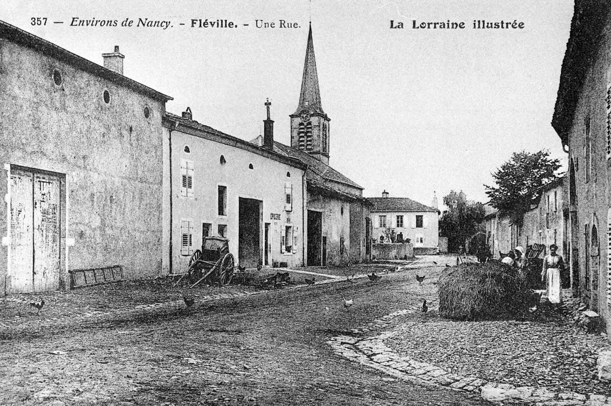 Archives Rue du Château Fléville
