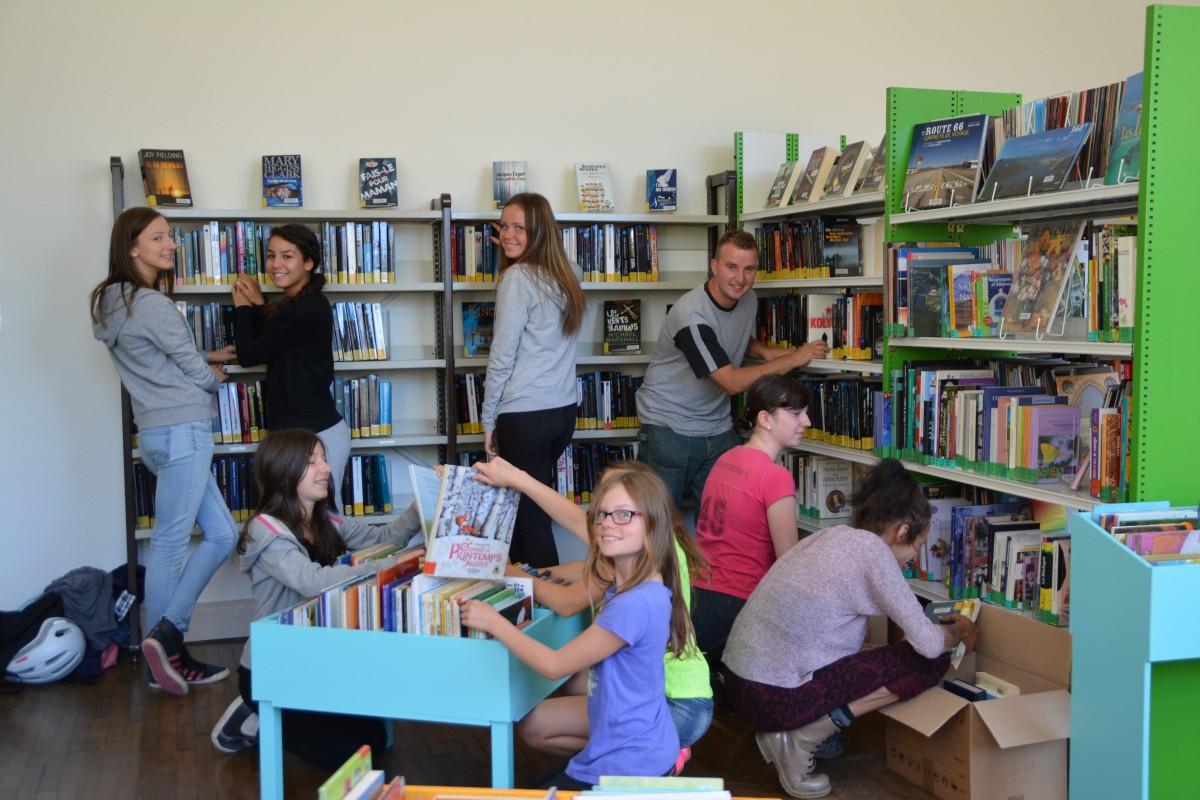 Bibliothèque Fléville