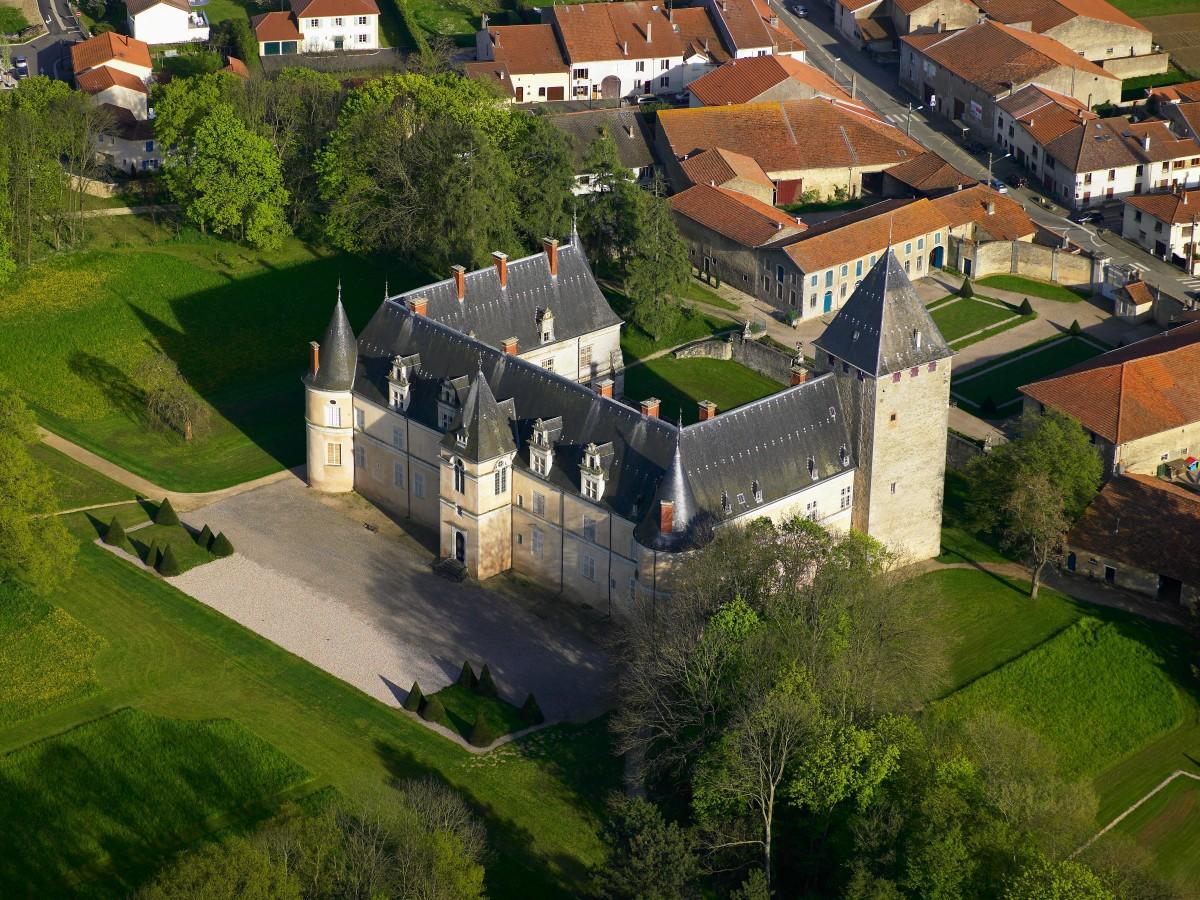 Château de Fléville arrière