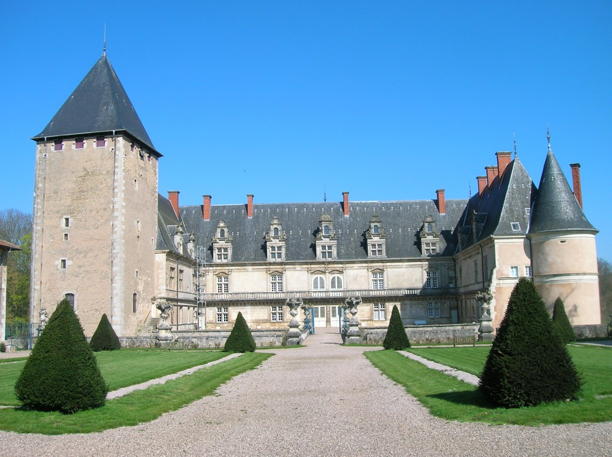 Château de Fléville vue de face