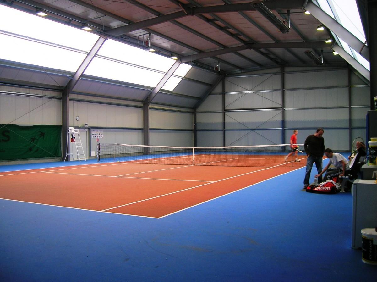 Court de tennis couvert