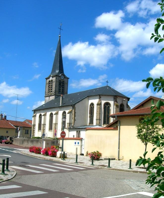 Eglise de Fléville