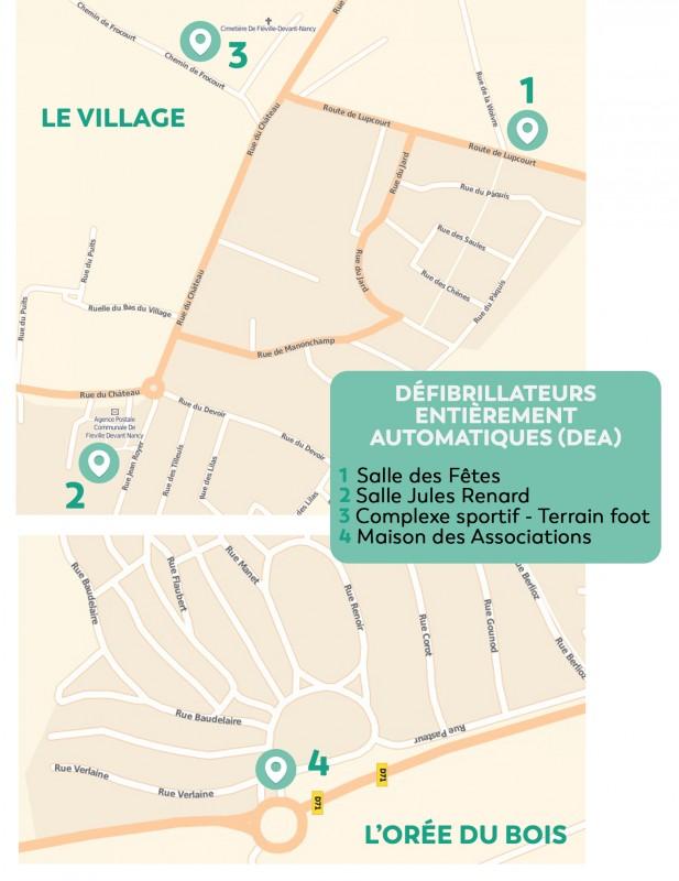 Plan Localisation DEA