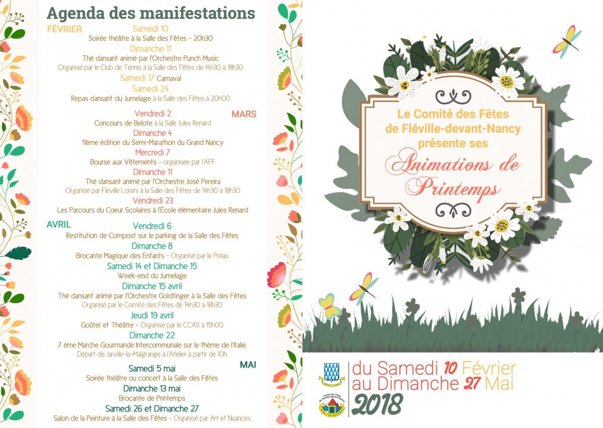 Animations Fléville-devant-Nancy programme